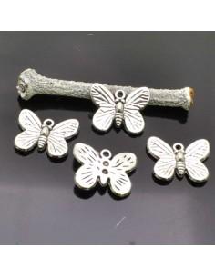 Ciondoli Farfalle Ciondolo Farfalla 17x14 mm 4 Pz per bigiotteria