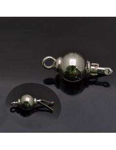 Chiusura a palla grande palla 10 mm in argento 925%