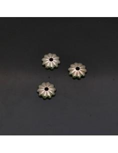 Copri perle in argento 925% da 5 mm 45pz