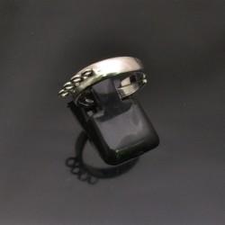 Base anelli regolabili con 4 anelle 4 mm misura da 15 55 in argento 925%