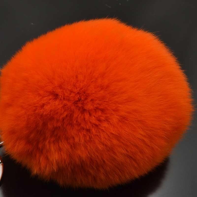 Sconti! pon-pon pelliccia Pompon di pelliccia vera 80mm multicol di Ottima  Qualità 91ce1ae6a88d