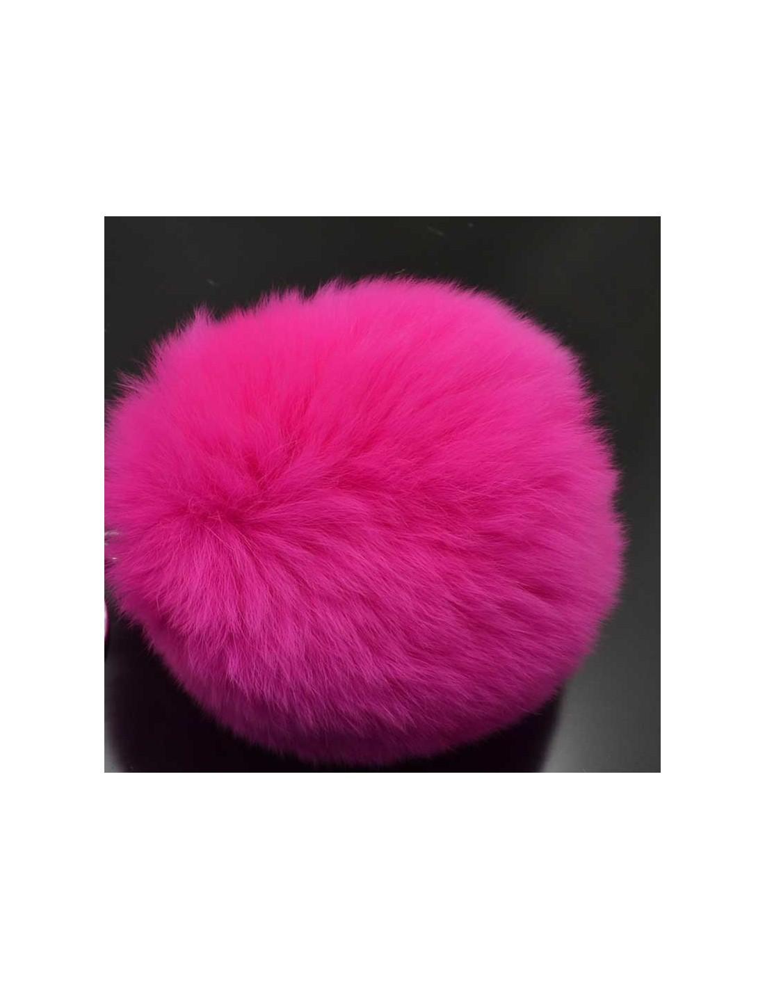 ... pon-pon pelliccia Pompon di pelliccia vera 80mm multicol di Ottima  Qualità ... df76d5ca3997