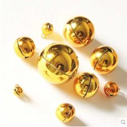 Campanello Campanellini Sonaglio oro 6 mm 8 mm 10 mm Charm Ciondoli per bigiotteria