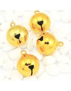 Campanello Ciondoli grande Campanellini Sonaglio oro 20mm Charm per bigiotteria