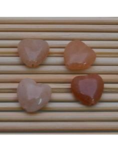 Pietre a forma di cuore corniola liscia 12 MM 2 pz per orecchini bracciali collana