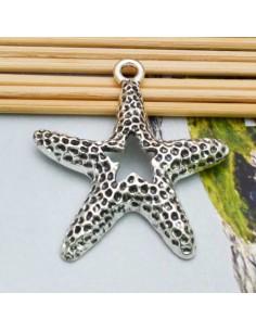 ciondolo forma stella marina 41x50 MM