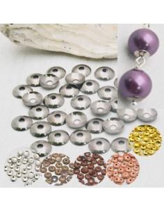 150 Pz. Copri perline colori diversi