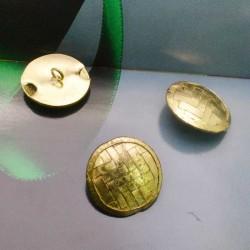 Bottoni oro Rotonda 28 mm per le tue creazioni