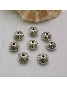 Distanziatore a rondella piatta a rondella piccola 7 mm 8 pz in metallo per bigiotteria
