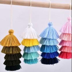 nappa Nappe porta borse porta chiavi molti col 13 cm per tue creazioni