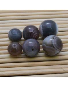 AGATA BOTSWANA tondo liscio 3 mm - 20 mm Pietra Dura per i tuoi gioielli
