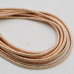 filo metallico ricoperto lurex col rame per base orecchini collana bracciali per tuoi gioielli