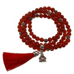 bracciali mala braccialetto Elasticizzato, rosario buddista, tassel braccialetto, buddha mi benedica collana