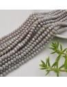 perline di cristallo cinese mezzi cristalli cipollotti 4.5 x 6 MM GRIGIO CHIARO 90 pz