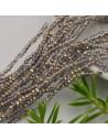 200 pz perline di cristallo cinese mezzi cristalli cipollotti 2 x 3 mm