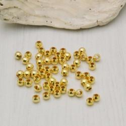 Schiaccini in argento 925% placcato oro per realizzare i tuoi gioielli