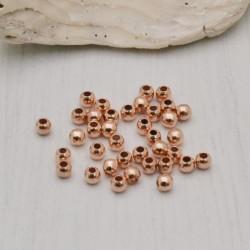 Schiaccini in argento 925% placcato oro rosa per realizzare i tuoi gioielli