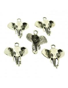 5 Pz. Ciondoli faccie elefante