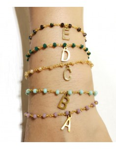 concatenata bracciale rosario