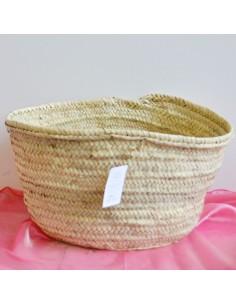 borse paglia da decorare borse palma 43x28H24cm senza manici borsa donna mare estate