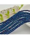 filo cristalli 2 x 3 mm colore blu metallic Rondelle sfaccettato e briolette 200 pz per le tue creazioni