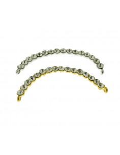 1 Pz. Ciondolo Archetto argento e oro