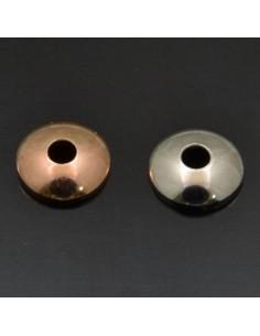 Copri perle 4 mm in argento 925%