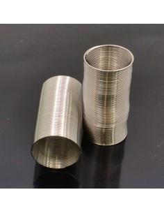 anelli Armonico Filo Spirale acciaio diametro 20 mm 60 GIRI filo 0.5 mm