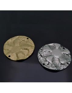 Ciondolo Zama medaglione Oro e Argento