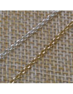 Catena Rolo argento anella tonde 1,8 mm in argento 925% per 10 cm