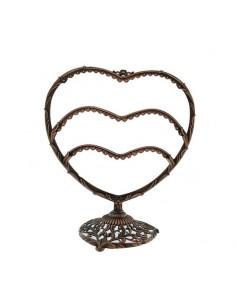 ESPOSITORE orecchini portaorecchini belli da vetrina forma cuore