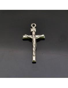 Ciondolo Crocifisso 31x16 mm in argento 925% Made in Italy