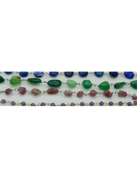 Catena rosario argento 925