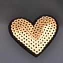 Toppe Toppa cuore con paillettes termoadesive 5.5 cm Patch termoadesiva Applique cuore