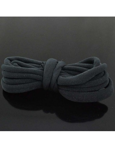 Fettuccia elastica tubolare elastica in Lycra colore grigio scuro 1mt grigio scuro