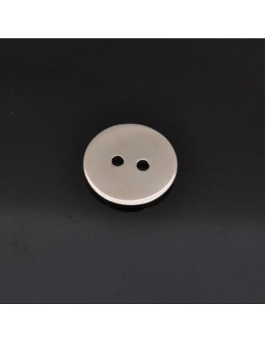 Bottone da 13 mm in argento 925%