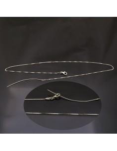 Base collana 46 cm in argento 925%