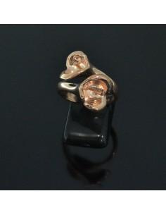 Base anelli regolabili con scasso e perno per pietre misura da 16 56 in argento 925%