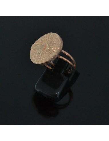 Base anelli regolabili con piatto 19 mm misura da 10 50 in argento 925%