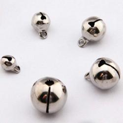 Campanello Campanellini Sonaglio argento 6 mm 8 mm 10 mm Charm Ciondoli per bigiotteria