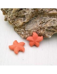 stelle marine in resina 30 mm con foro passante per BIGIOTTERIA