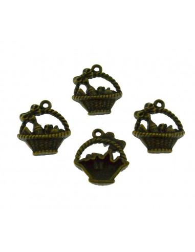 4 Pz. Ciondoli Ceste bronzo