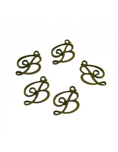 5 Pz. Ciondoli Lettere B