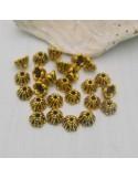 25 Pz. Copri perla oro antico