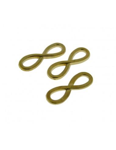 3 Pz. Ciondoli Infinito oro