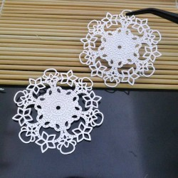 filigrana Ciondolo 55 mm in ottone per gioielli