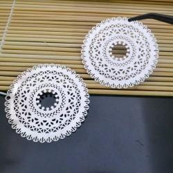 filigrana inox acciaio Ciondolo 55 mm per gioielli