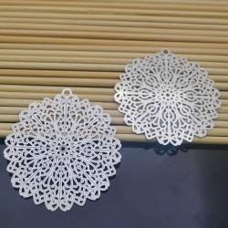 filigrana inox acciaio Ciondolo 45 mm per gioielli