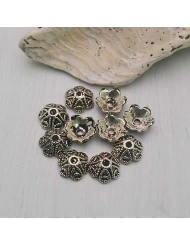 10 Pz. Copri perla fiore