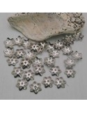 50 Pz. Copri perle filigrana